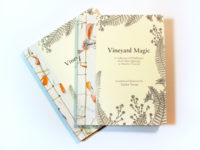Vineyard Magic (a hand-bound artist book)